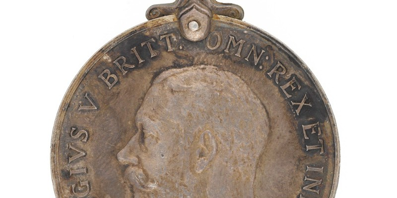 Albert Haughton's War Medal
