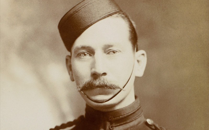 Regimental Sergeant Major Arthur Harrington