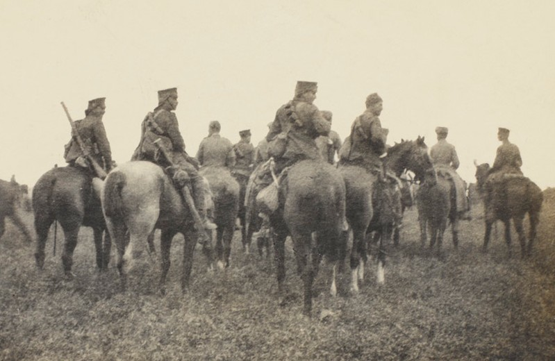 British cavalry at Néry, 1 September 1914