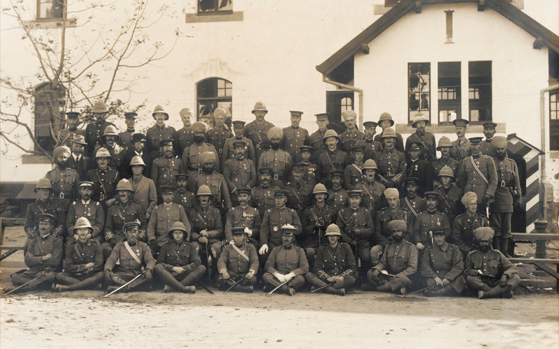 2nd Battalion, The South Wales Borderers fought alongside Japanese and Indian comrades at the Battle of Tsingtao in 1914