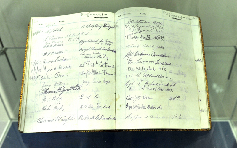 Harbour Canteen Visitors' Books