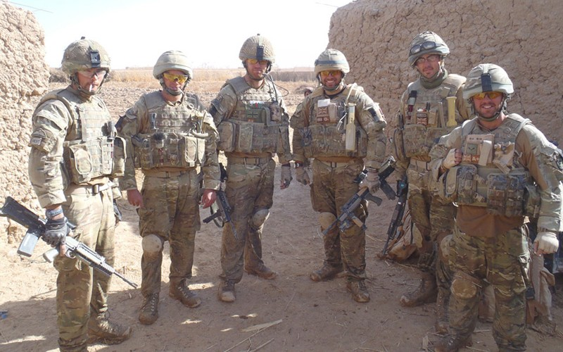British soldiers in Helmand Province, Afghanistan, c2012