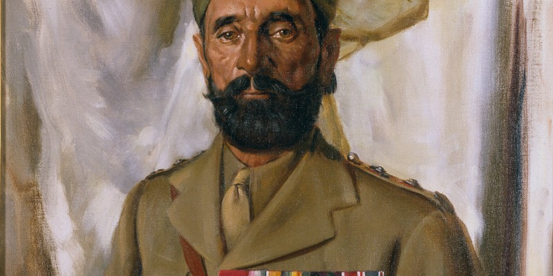 Subadar Khudadad Khan VC (1888-1971), 10th Baluch Regiment, c1935