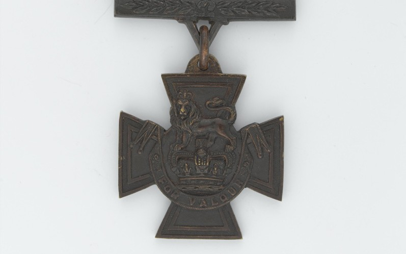 Victoria Cross awarded to Lieutenant Frank Alexander de Pass, 1914