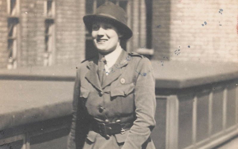 A member of the First Aid Nursing Yeomanry