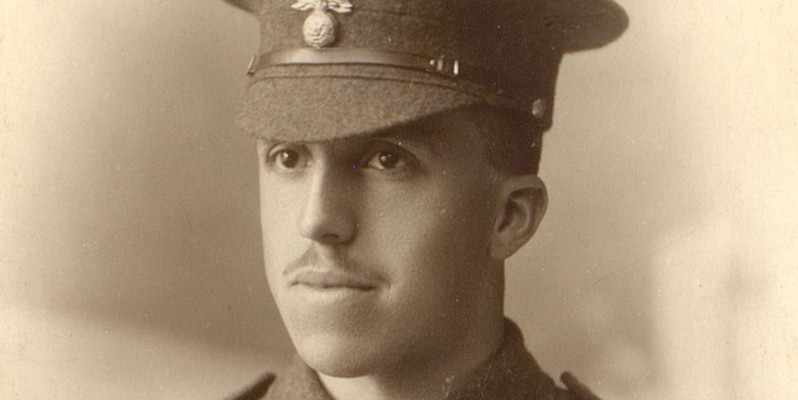Private Archibald Favell, November 1914