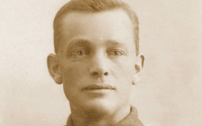 Company Sergeant Major Jack Gray