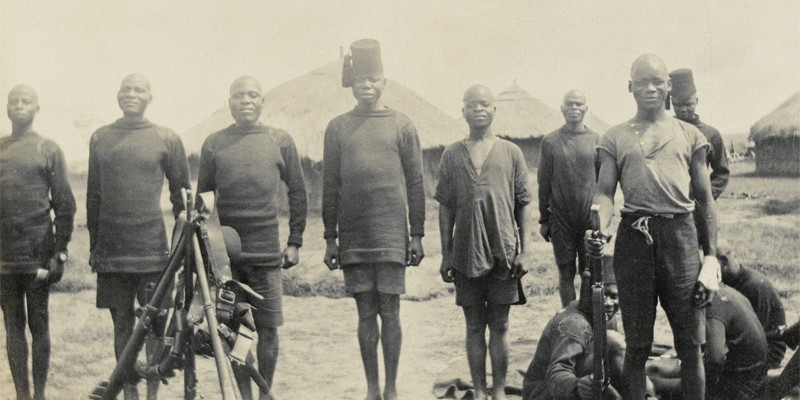 Men of The King's African Rifles, c1916