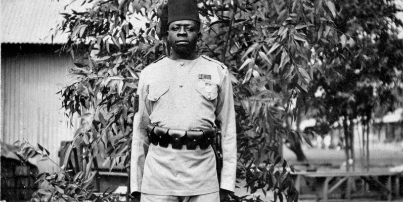 A non-commissioned officer of 2nd Battalion, The King's African Rifles, c1916
