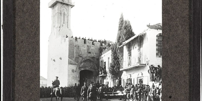 General Sir Edmund Allenby entering Jerusalem, 1917