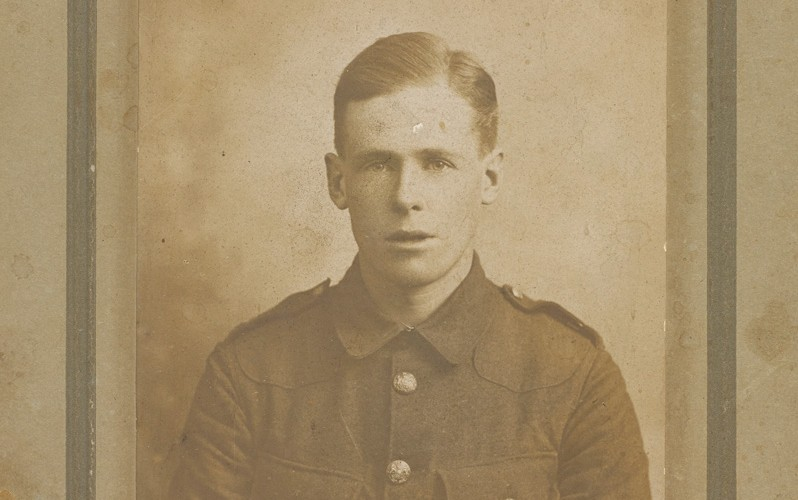 Lance Corporal Val Oram Lander, 1/13th Battalion The London Regiment, 1914