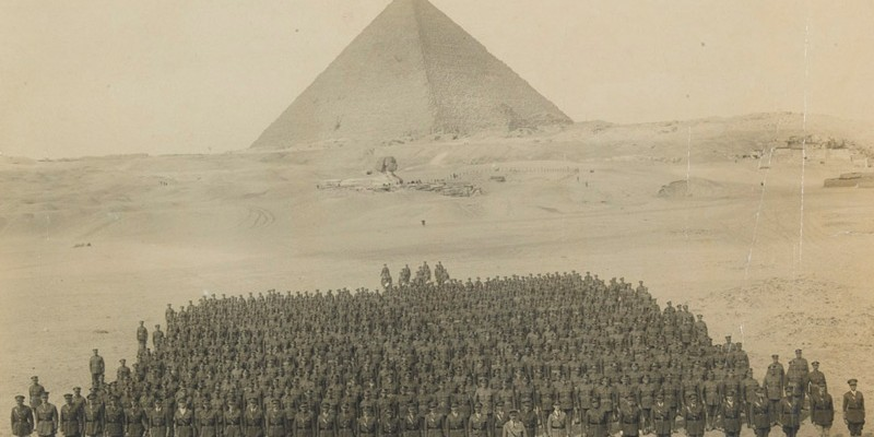 Royal Irish Regiment, Giza, c1916