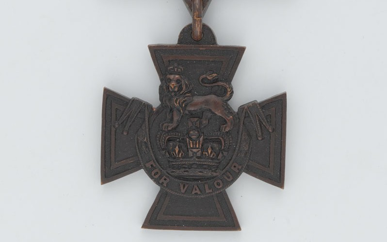 Victoria Cross awarded to Second Lieutenant Rupert Hallowes, 4th Battalion, The Duke of Cambridge's Own (Middlesex Regiment), 1915