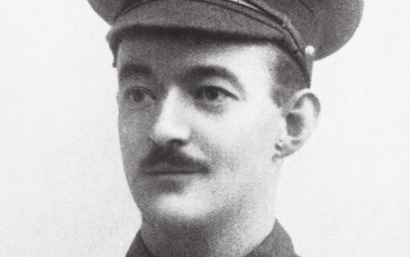 Sergeant (later Second Lieutenant) Rupert Hallowes, c1914