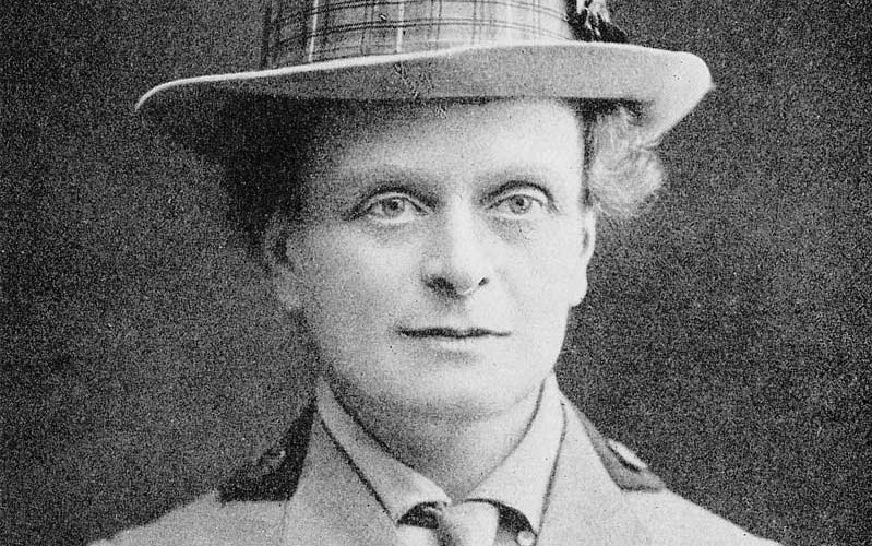 Portrait of Dr Elsie Inglis
