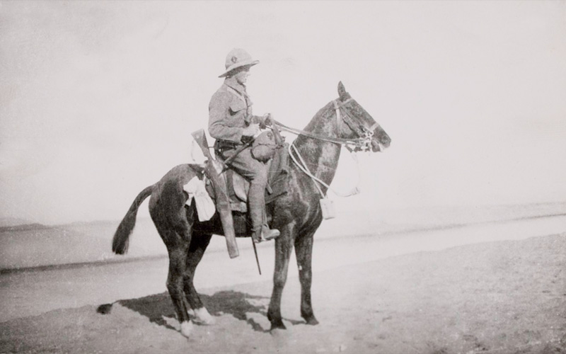 Private William Bowyer, 1/1st Buckinghamshire Yeomanry (Royal Bucks Hussars), 1915