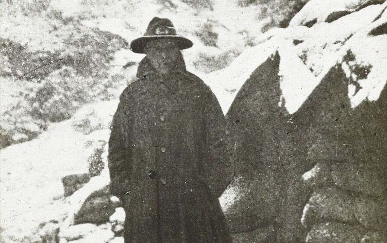 Anzac in the snow, November 1915