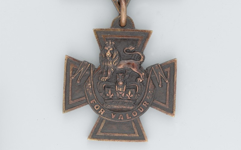 Victoria Cross awarded to Acting Corporal William Cotter, 1916