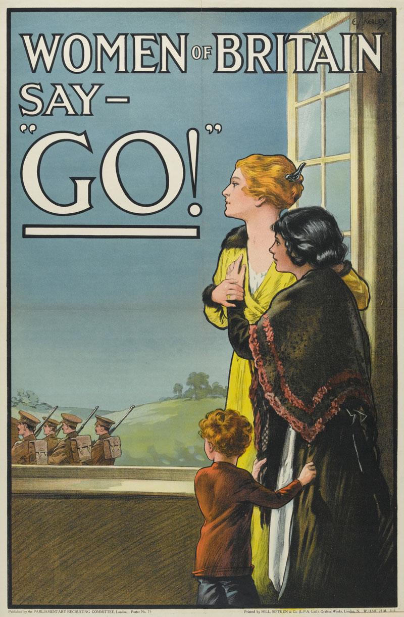 Worldgo To Www Bing Com: The Use Of Gender In First World War Propaganda