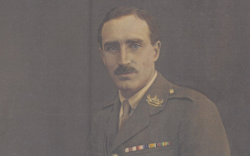 Second Lieutenant Newton Williams, The Gloucestershire Regiment, 1915