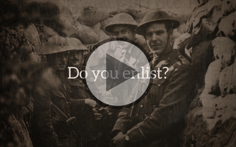 Do You Enlist? – Interactive Video