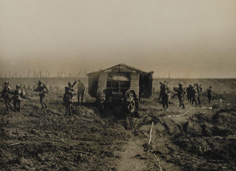 combats a cuts en 1916