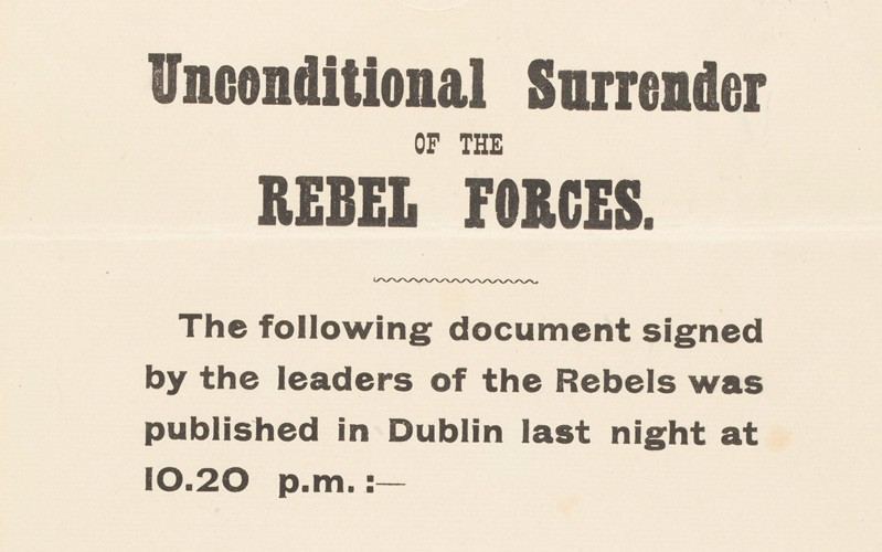 'Unconditional Surrender of the Rebel Forces'