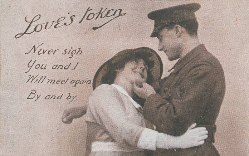 'Love's Token', postcard, c1915
