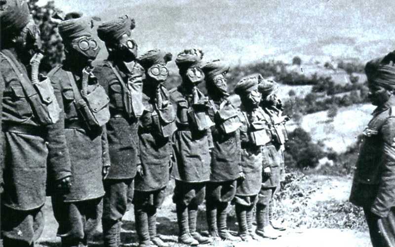 Indian soldiers on the Somme 1916