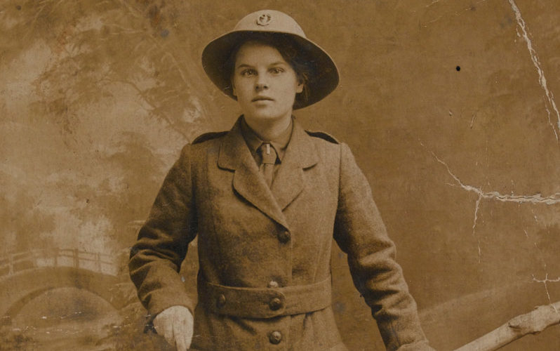 Worker Margaret Caswell
