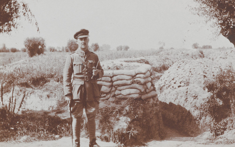 Captain Percy Ingpen, 1/8th Battalion The Duke of Cambridge's Own (Middlesex Regiment), 1915