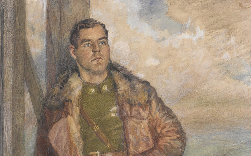 Major Oliver Stewart, Royal Flying Corps, 1918