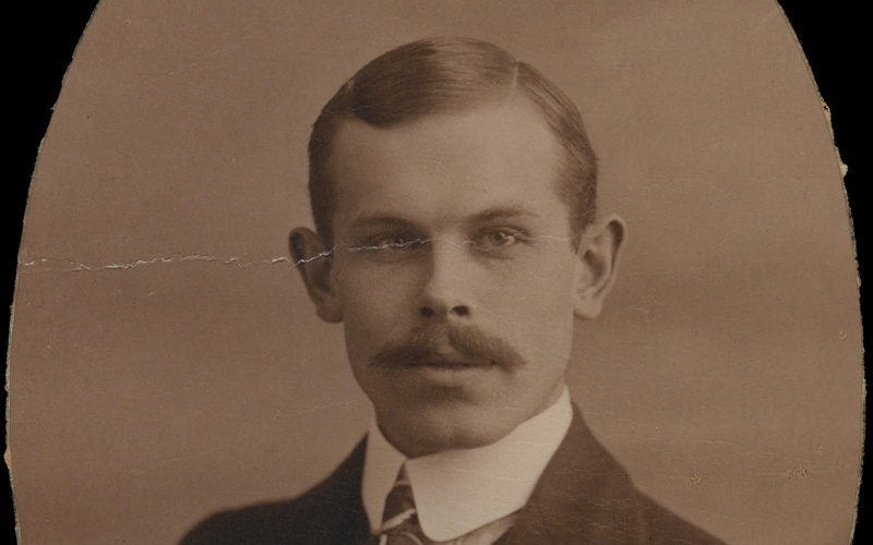 Percy Ottley in civilian dress, c1914