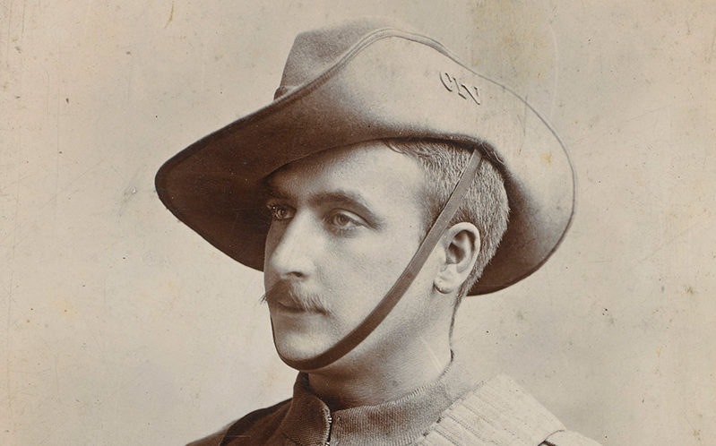 Battery Quartermaster Sergeant Samuel Pye