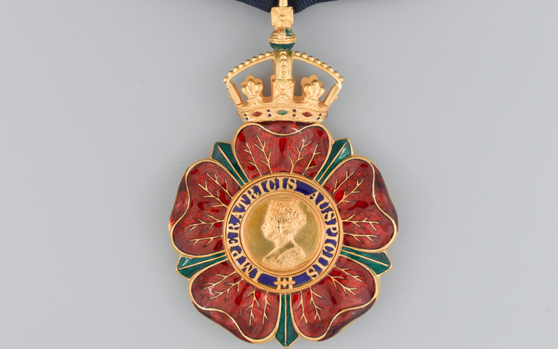 Order of the Indian Empire, Badge and Star of a Knight Commander, awarded to Major-General Sir Heerajee Cursetjee, Indian Medical Service, 1946