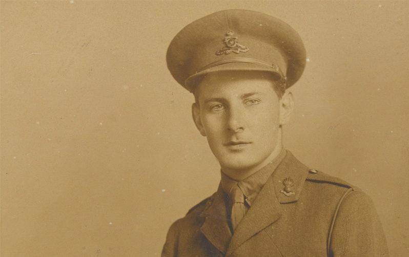 Second Lieutenant Noel Evans